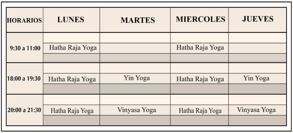 centros de yoga en pamplona horario san juan